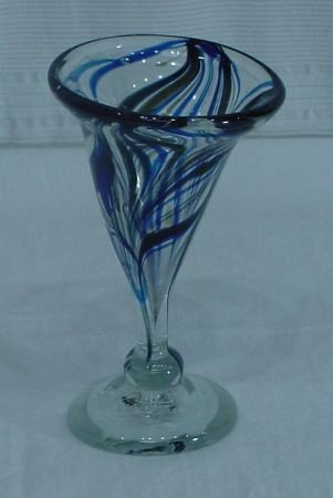 23: Lee Rosser 76 Art Glass Vase