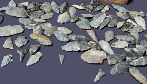 12: A Collection of Tennessee Cherokee Arrowheads