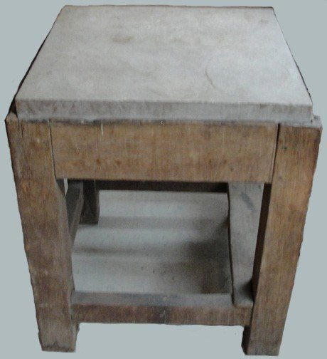 209: A 19th Century Beaten Biscuit Table Middle Tenness