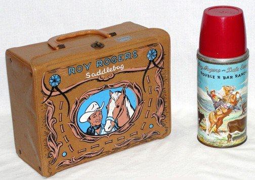 20: Roy Rogers Saddle Bag Brown