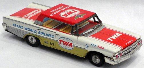 511: TWA 1961 Ford Friction Car