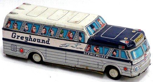513: Greyhound Scenicruiser Tin Bus