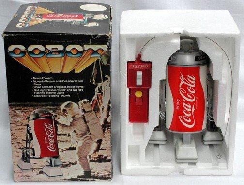 515: 1980s Cobot In Original Box Coca Cola