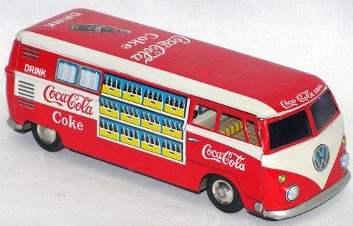 517: 1950s Coca Cola VW Van