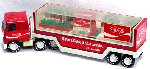 519: Buddy L Plastic Coca Cola Delivery Truck