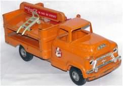 534: Buddy L. Steel Coca Cola Delivery Truck