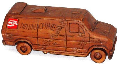 869: Coca Cola Denim Machine Van