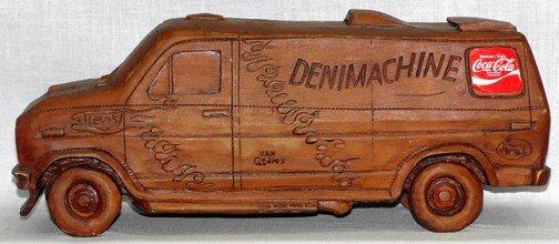869: Coca Cola Denim Machine Van - 2
