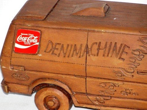 869: Coca Cola Denim Machine Van - 3