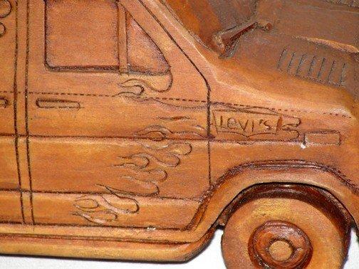 869: Coca Cola Denim Machine Van - 4
