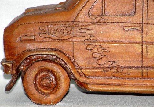 869: Coca Cola Denim Machine Van - 5