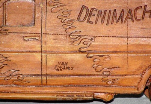 869: Coca Cola Denim Machine Van - 6