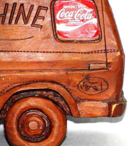 869: Coca Cola Denim Machine Van - 7