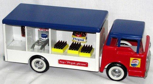 885: Nylint No. 5500 Pepsi Truck, 50's