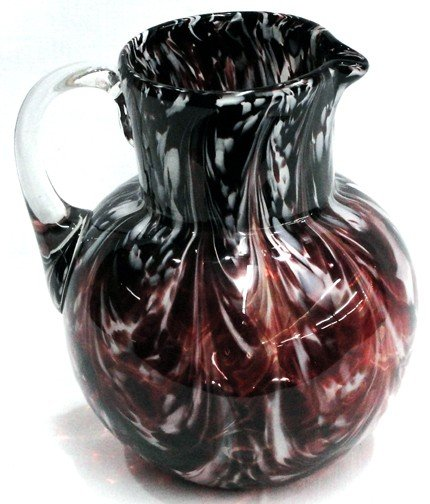 4: An End of Day Glass Water Pitcher