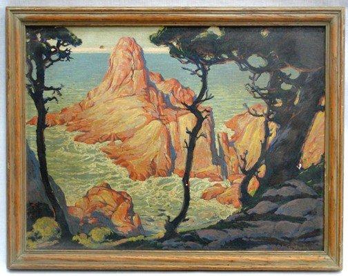 16: A Karl Godwin California Painting