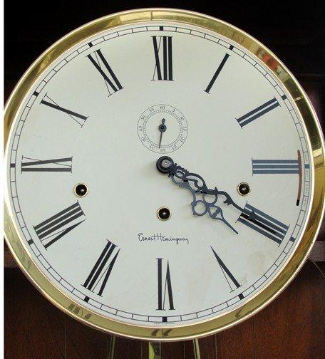 415: An Ernest Hemingway Ridgeway Tall Case Clock - 2