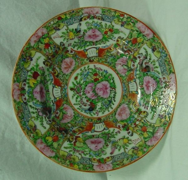 3: A Set of 6 Famille Rose Soup Plates