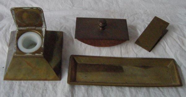 11: A Bradley & Hubbard Desk Set