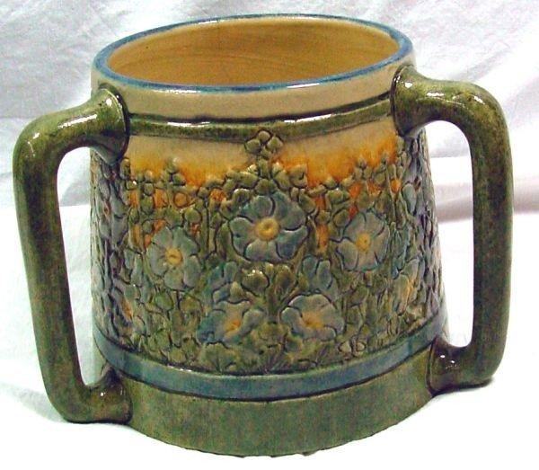 21: A Leona Nicholson Newcomb Pottery Loving Cup