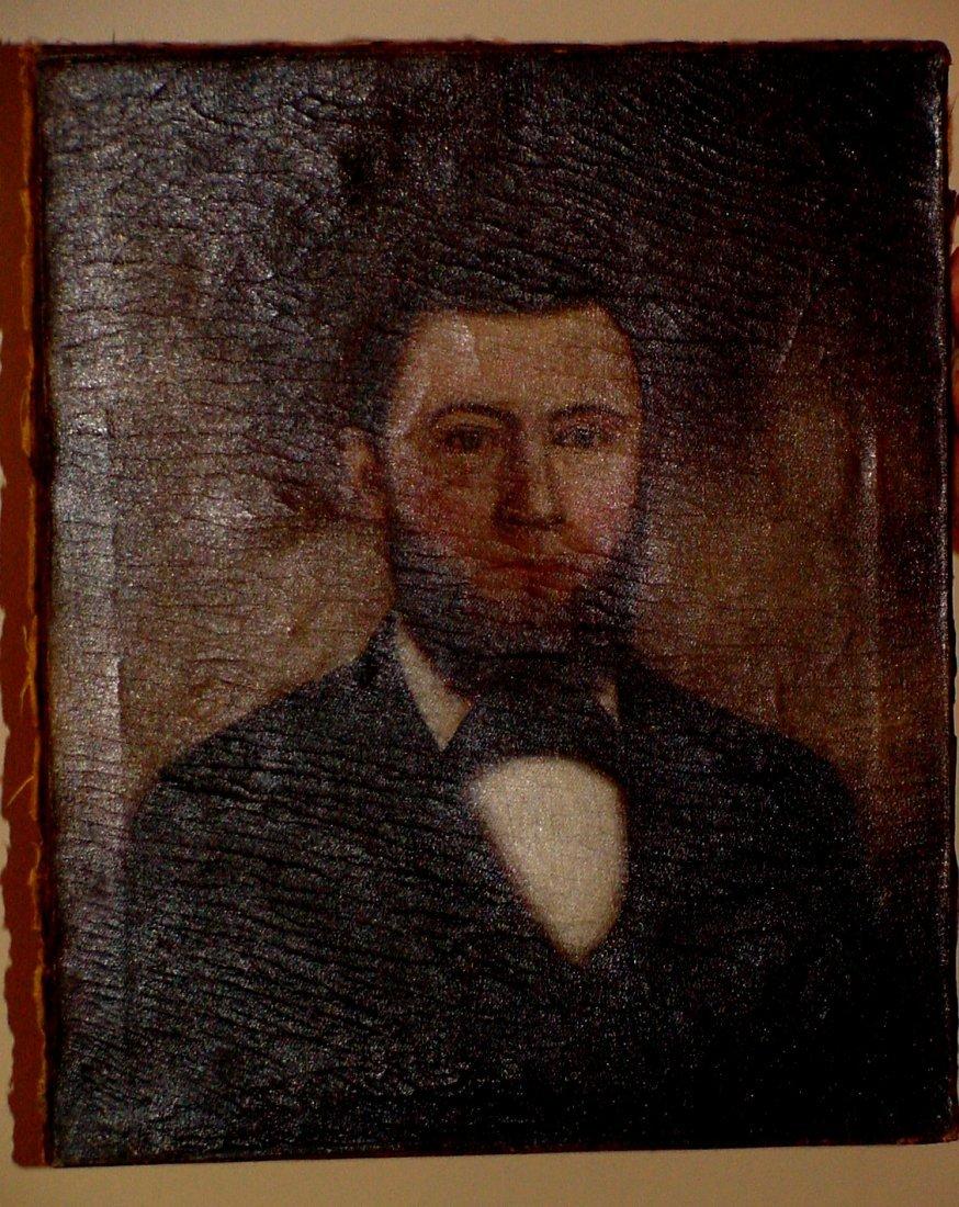 A 19th Cent. Gentleman's Portrait