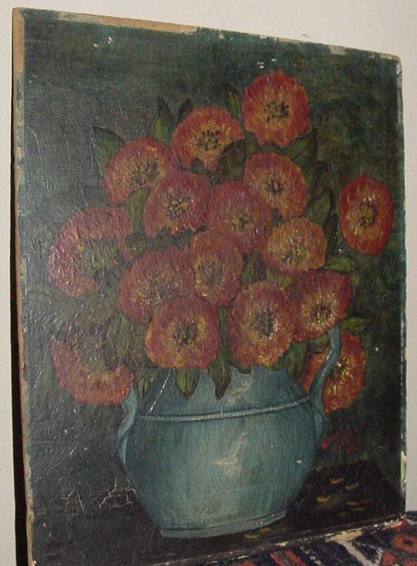 A Grayce Harding Syracuse NY Floral Oil