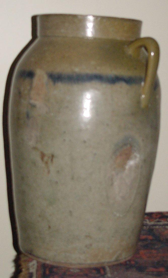 A Southern Pottery Churn Folk Art