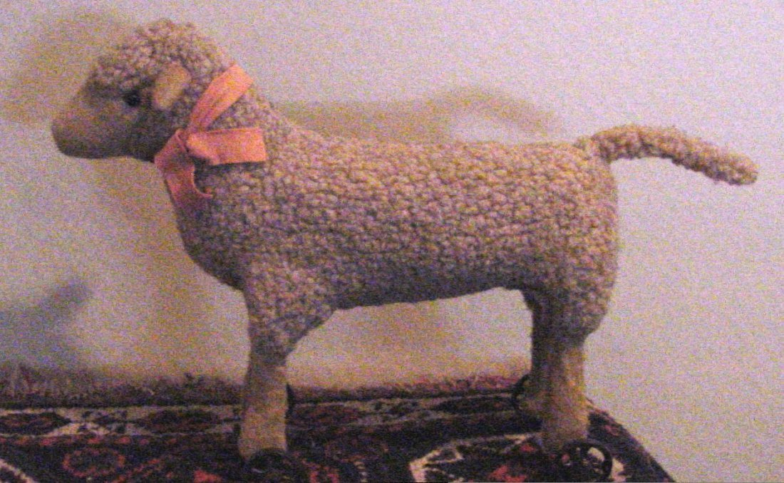 A 19th Cent. Sheep Pull Toy