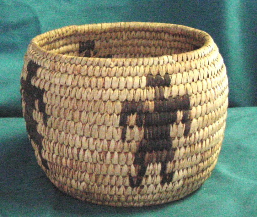 1: A Northwestern US Indian Basket