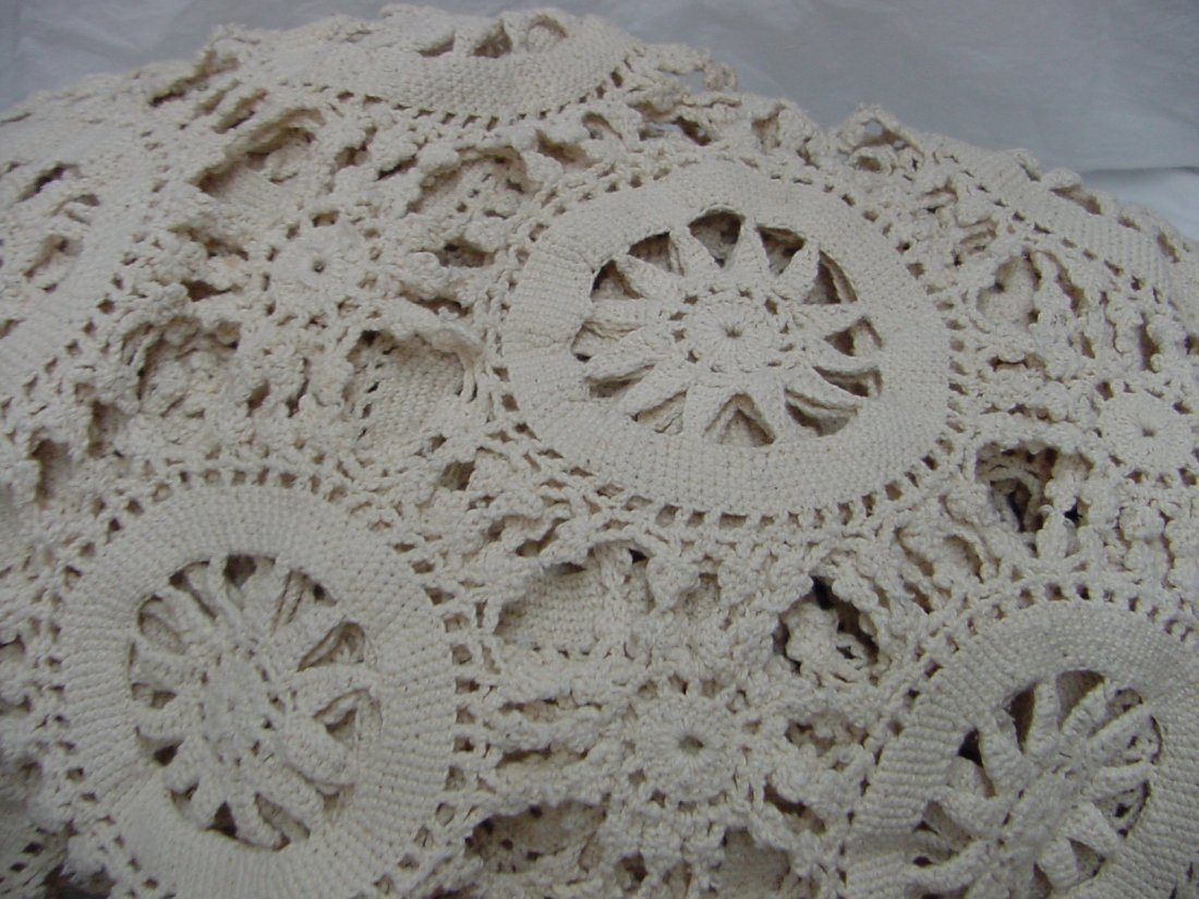 3: A 1940s Crocheted Bed Spread