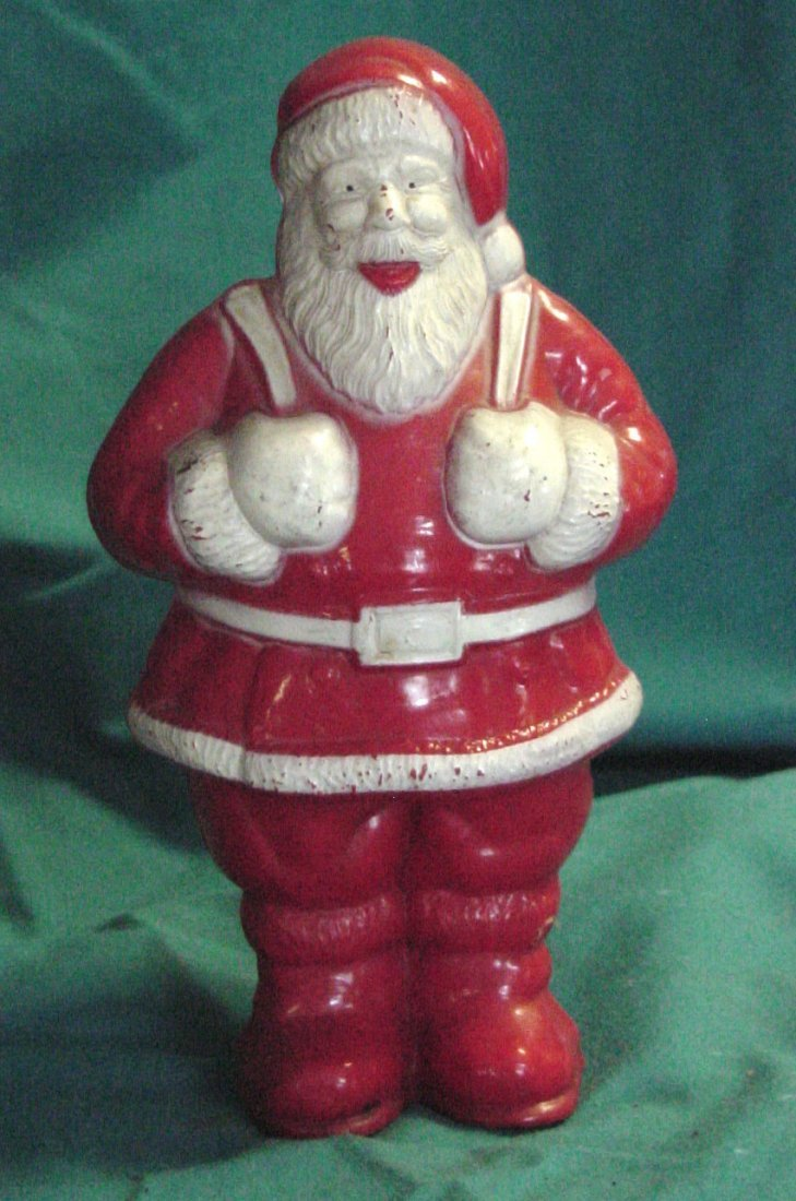 7: A Celluloid Santa Figure