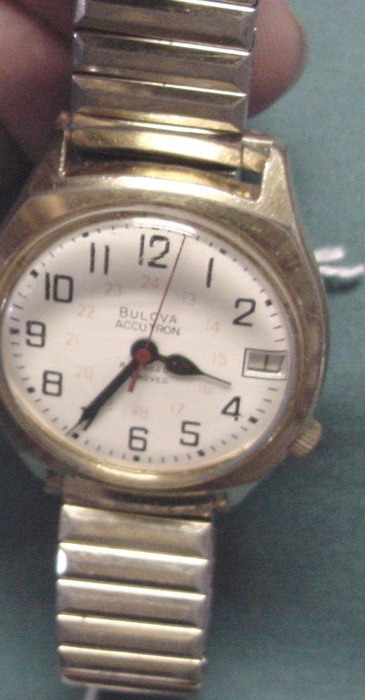 23: A Bulova Accutron RR Wrist Watch