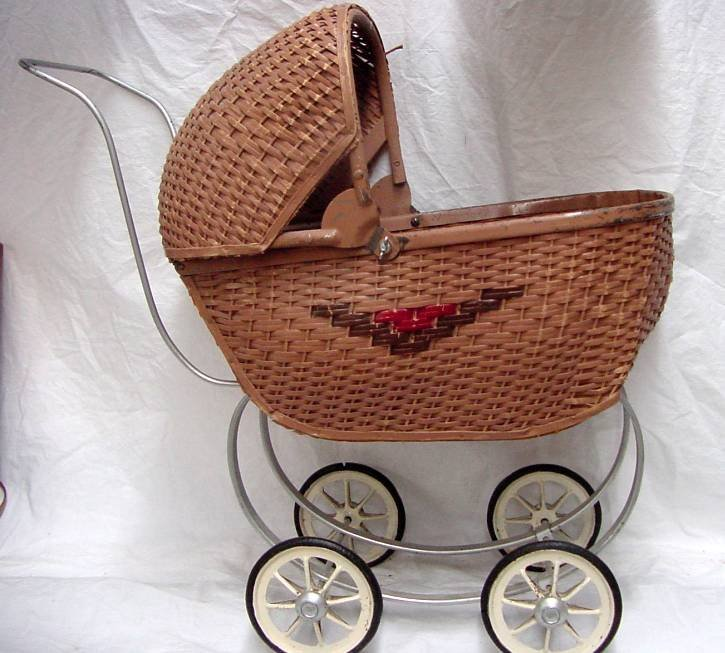 1940/50s Baby Doll Carriage