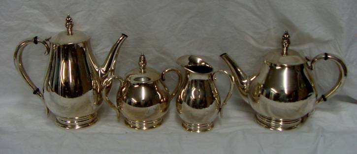 Royal Danish Sterling Coffee Set International
