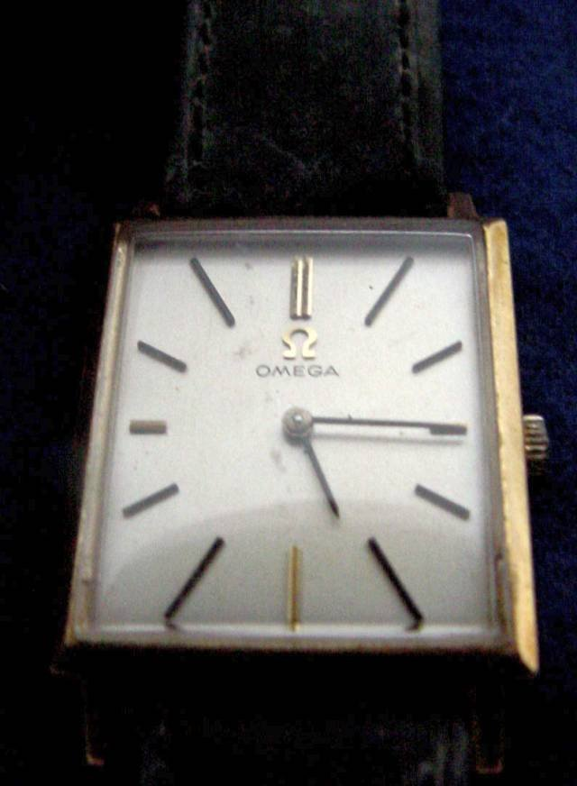 Vintage Omega Men's Wrist Watch