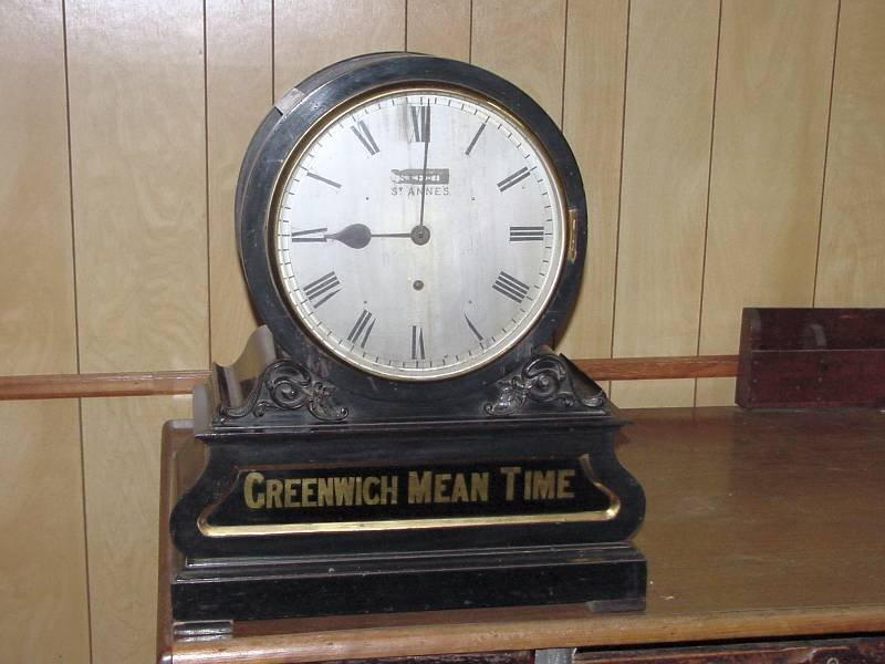Stead St. Anne's Greenwich Mean Time Clock