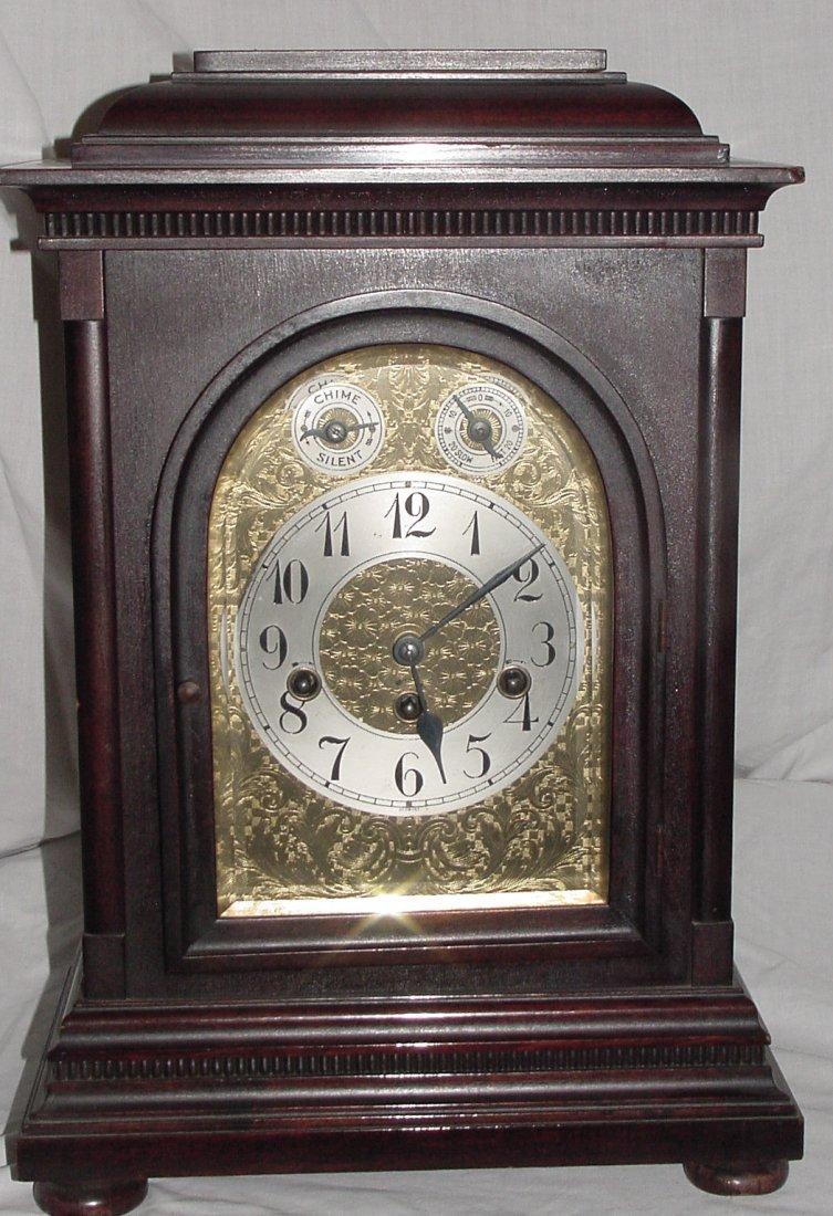 Junghans Bracket Clock w/Westminster Chimes