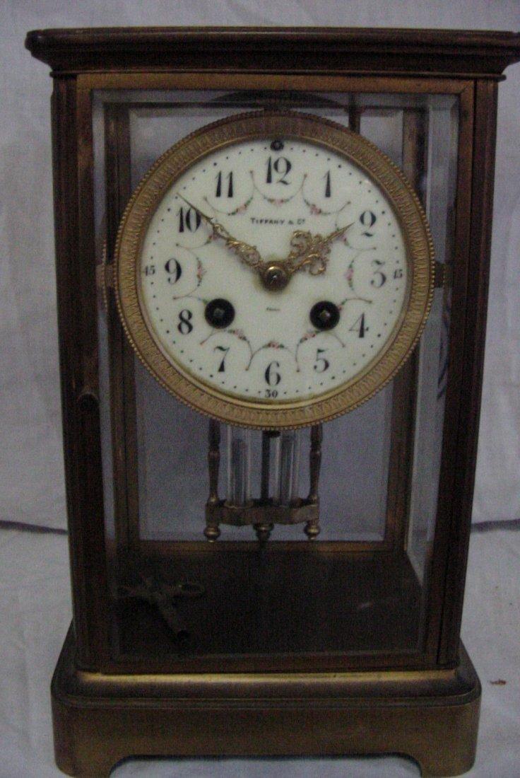 Tiffany Crystal Regulator Clock