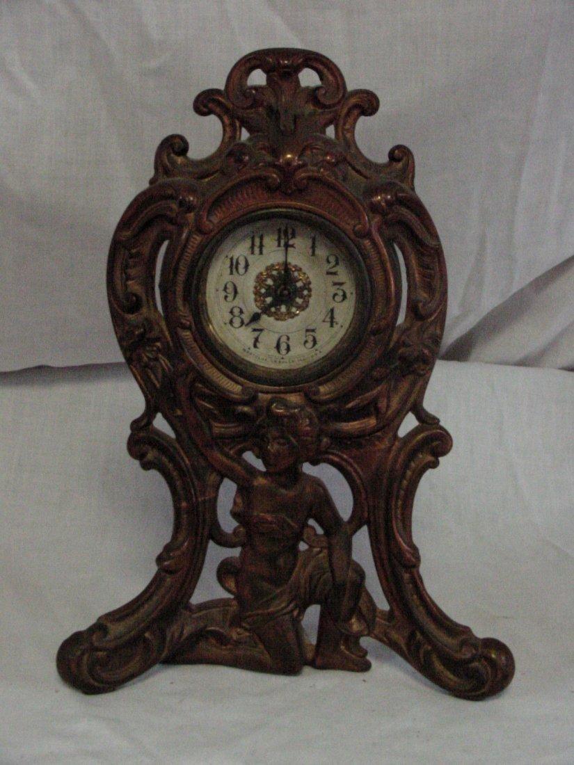 Westclox 1906 Cast Iron Mantle Clock