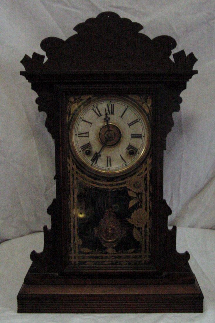 Valda Welch Walnut Kitchen Clock