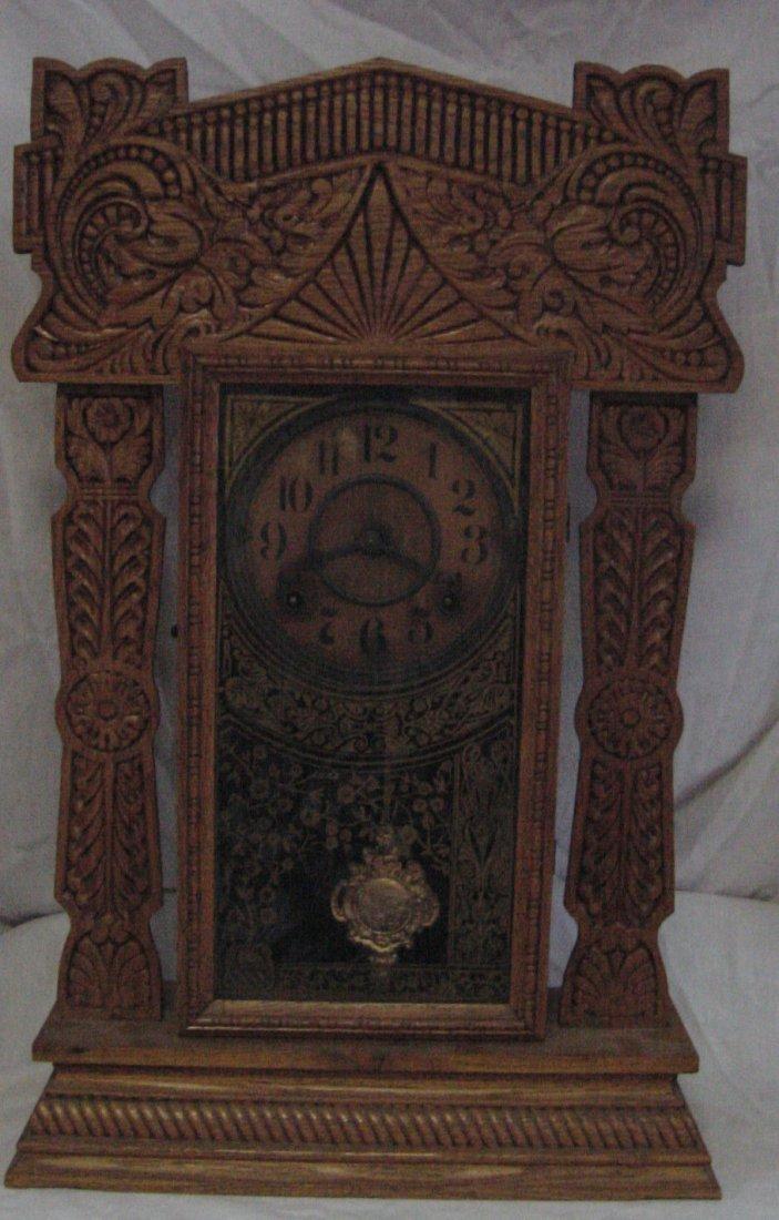 Pacific Oak Ingraham Kitchen Clock