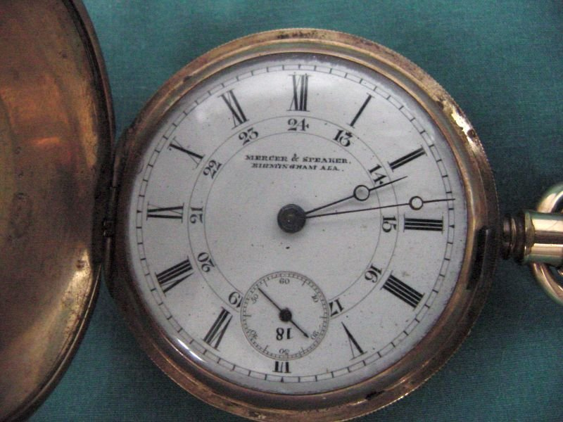 Mercer & Speaker Birmingham Pocket Watch