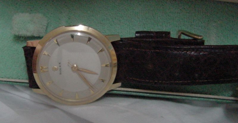 14K Vintage Rolex Men's Wrist Watch