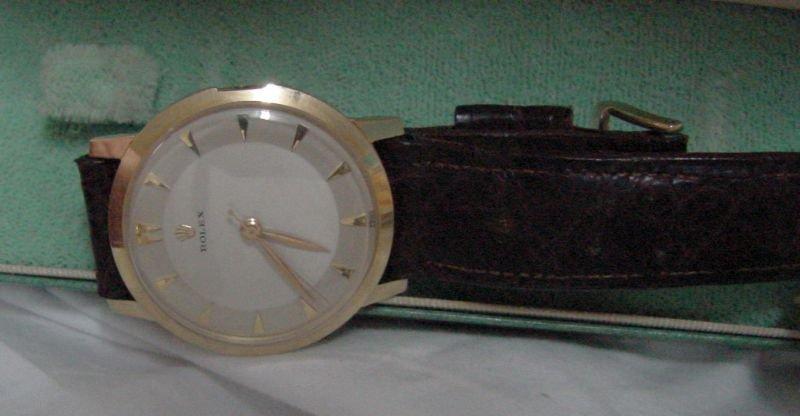 14K Vintage Rolex Men's Wrist Watch