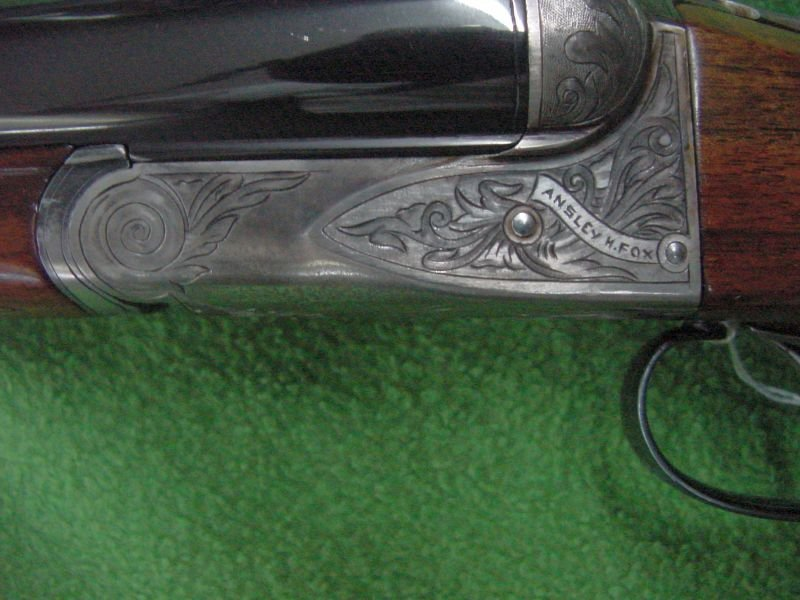 A. H. Fox A. E. Grade 12 Gauge Dbl Barrel Shotgun