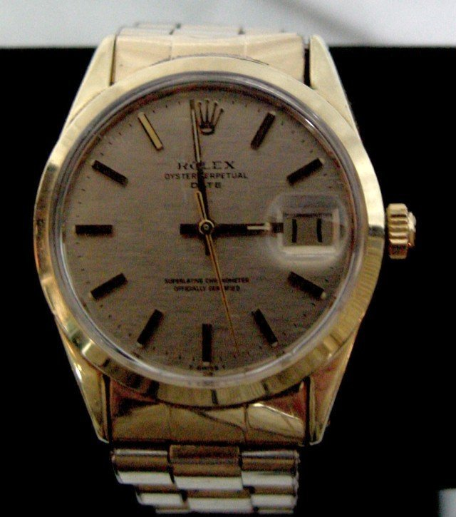 Rolex Oyster Perpetual Date Men's Chronometer