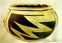 American Indian Southwestern Pottery Bowl