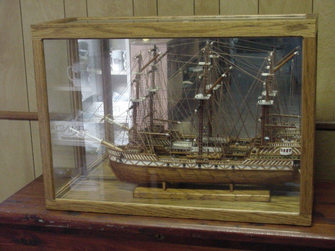 Prison Folk Art Match Stick Ship Tenn