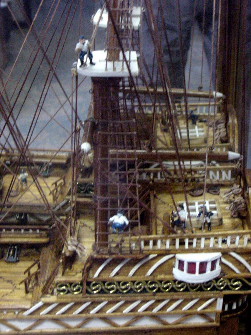 Prison Folk Art Match Stick Ship Tenn - 3
