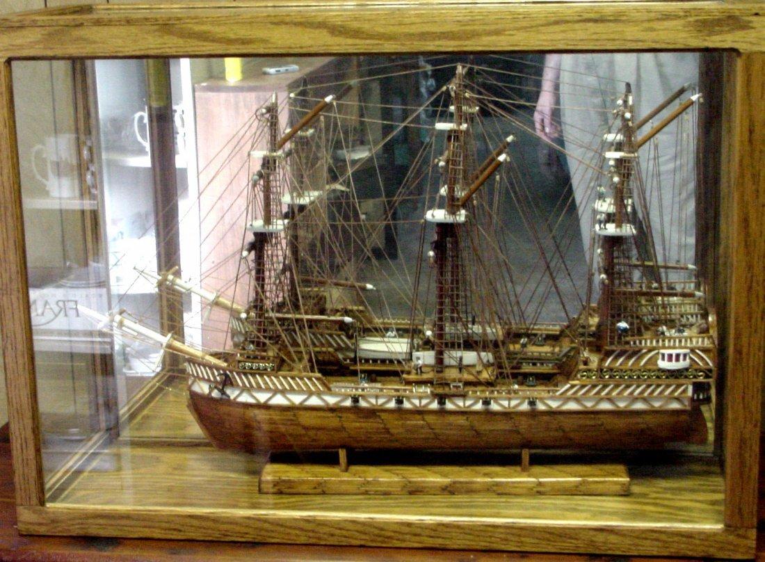Prison Folk Art Match Stick Ship Tenn - 4